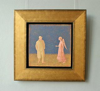 Mikołaj Kasprzyk : Guardian angel : Oil on Canvas