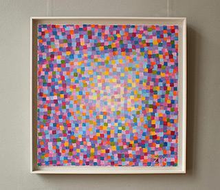 Zofia Matuszczyk-Cygańska : Hopeful : Oil on Canvas