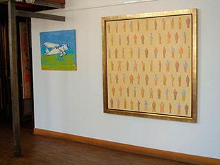 Mikołaj Kasprzyk : Gentlemen : Oil on Canvas
