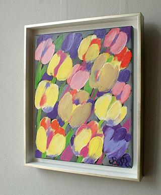 Beata Murawska : Afternoon snack : Oil on Canvas