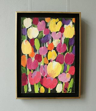 Beata Murawska : Confusion in the garden : Oil on Canvas
