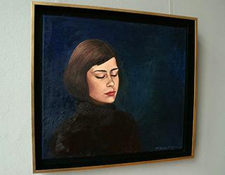 Katarzyna Karpowicz : Blue : Oil on Canvas