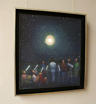 Katarzyna Karpowicz : Moon : Oil on Canvas