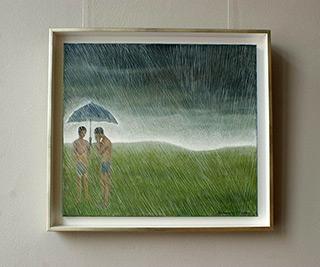 Katarzyna Karpowicz : The storm : Oil on Canvas