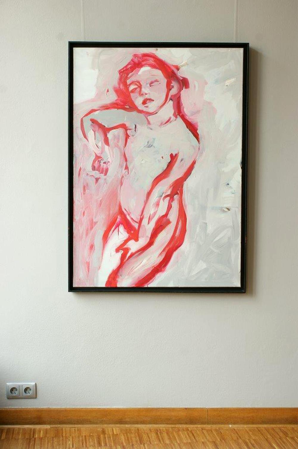 Katarzyna Swinarska : Sleeping figure