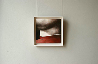Łukasz Huculak : Fragment No. 2 : Oil on Canvas