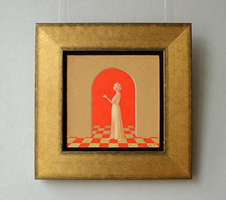 Mikołaj Kasprzyk : Cake : Oil on Canvas