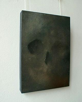 Łukasz Huculak : Skull No. 1 : Tempera on panel
