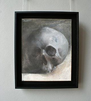 Łukasz Huculak : Skull No. 3 : Oil on Canvas