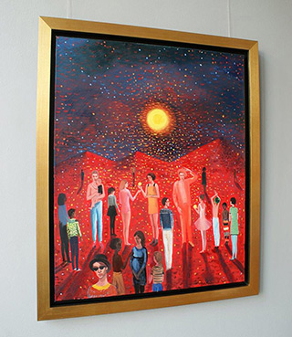 Katarzyna Karpowicz : The other planet : Oil on Canvas