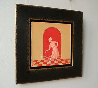 Mikołaj Kasprzyk : Greeting : Oil on Canvas