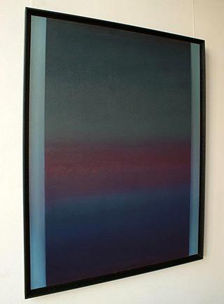 Anna Podlewska : Shining in the dark : Oil on Canvas