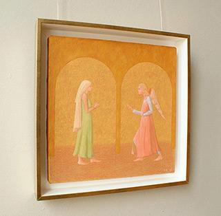 Mikołaj Kasprzyk : Annunciation : Oil on Canvas