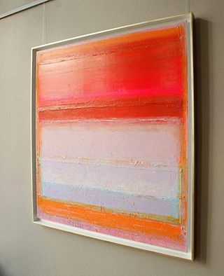 Sebastian Skoczylas : Red is coming : Oil on Canvas