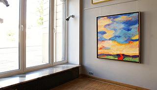 Beata Murawska : Canadian lanscape : Oil on Canvas
