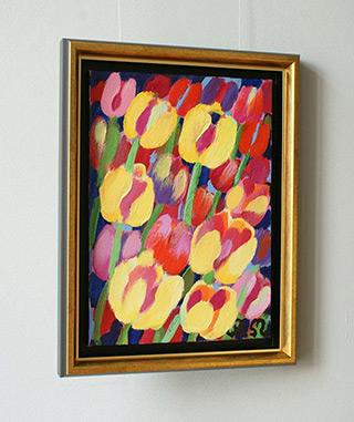 Beata Murawska : Kings of spring : Oil on Canvas