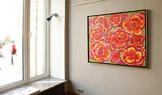 Beata Murawska : Poppys : Oil on Canvas