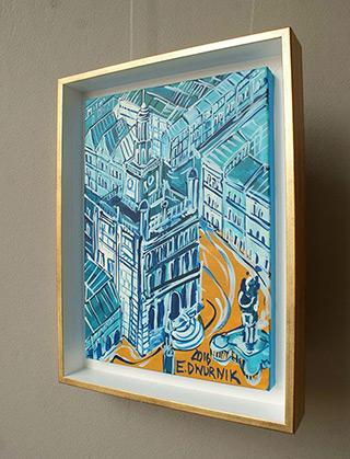 Edward Dwurnik : Poznań : Oil on Canvas