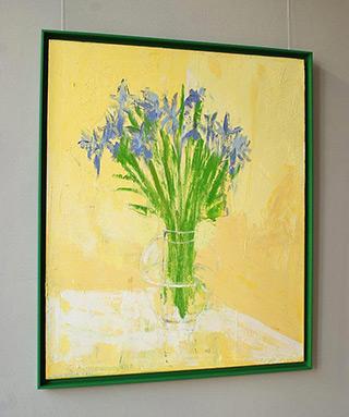 Jacek Łydżba : Cornflowers : Oil on Canvas