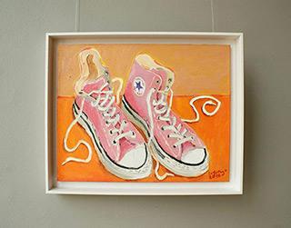 Krzysztof Kokoryn : Converse : Oil on Canvas