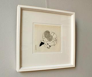 Magdalena Sawicka : Boys : Ink on paper