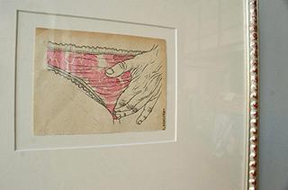 Magdalena Sawicka : Roses : Ink on paper