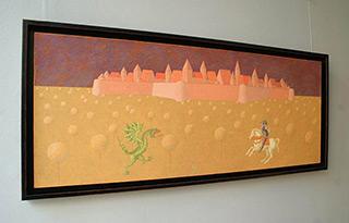 Mikołaj Kasprzyk : St. George : Oil on Canvas
