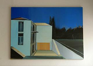 Maria Kiesner : Gerhard Richter's House : Oil on Canvas