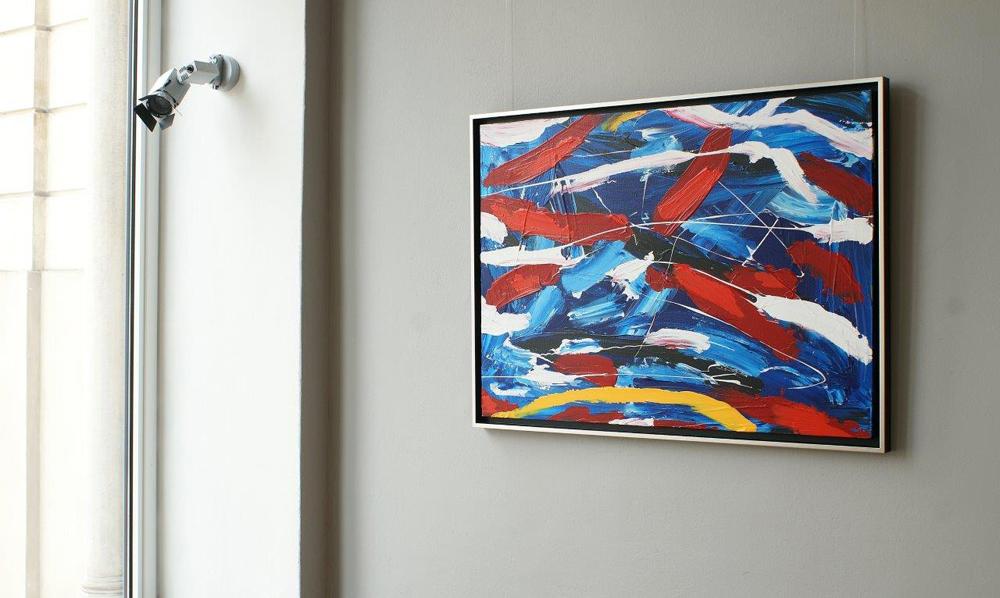Edward Dwurnik : Abstract painting No 356