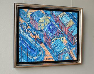 Edward Dwurnik : Sadyba : Oil on Canvas