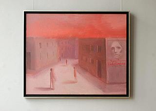 Katarzyna Karpowicz : Hour of the wolf : Oil on Canvas