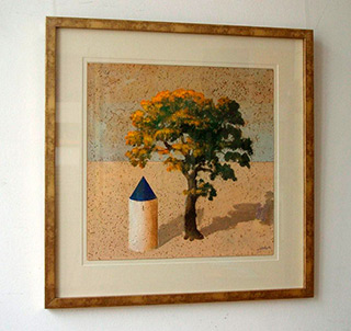 Darek Mlącki : Landscape : Oil on Canvas