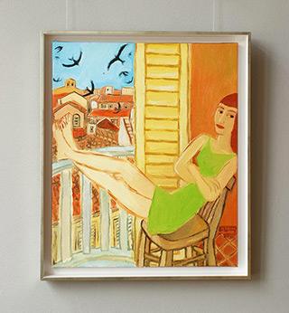 Krzysztof Kokoryn : Swifts : Oil on Canvas