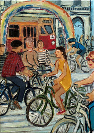 Krzysztof Kokoryn : This is no longer : Oil on Canvas