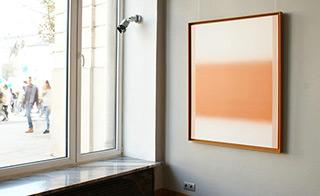 Anna Podlewska : Sin tone on white : Oil on Canvas