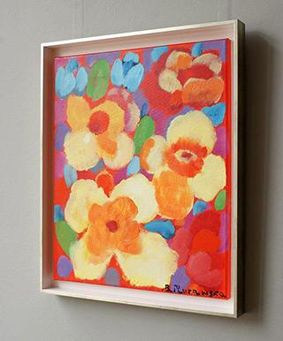Beata Murawska : Hot kiss : Oil on Canvas