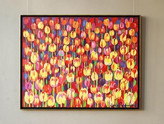 Beata Murawska : Indian summer : Oil on Canvas