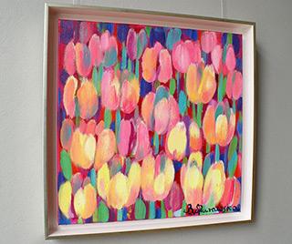 Beata Murawska : Pink thought : Oil on Canvas