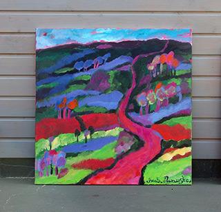 Beata Murawska : Southwest : Oil on Canvas