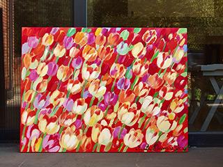 Beata Murawska : Spring obsession : Oil on Canvas