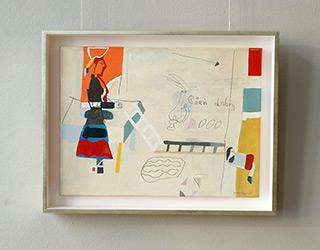 Jacek Cyganek : Good day : Tempera on canvas