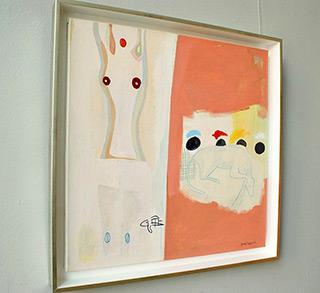 Jacek Cyganek : Innocent : Tempera on canvas