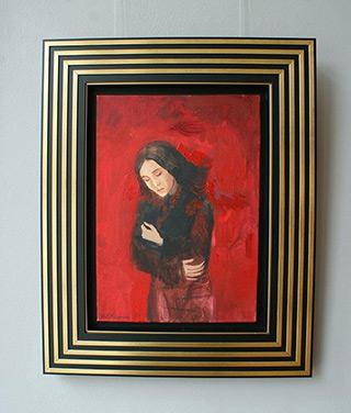 Katarzyna Karpowicz : Windy weather : Oil on Canvas