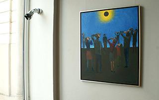 Katarzyna Karpowicz : Eclipse : Oil on Canvas