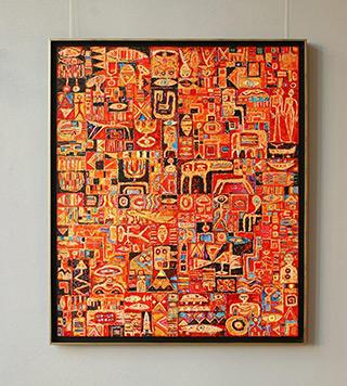 Krzysztof Pająk : Simply story : Oil on Canvas