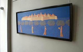 Mikołaj Kasprzyk : Ladies : Oil on Canvas