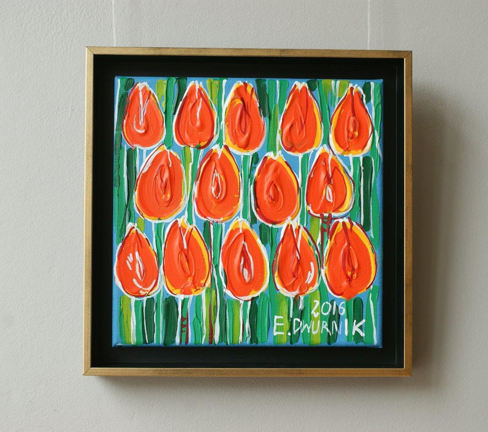 Edward Dwurnik : Tulips No. 1