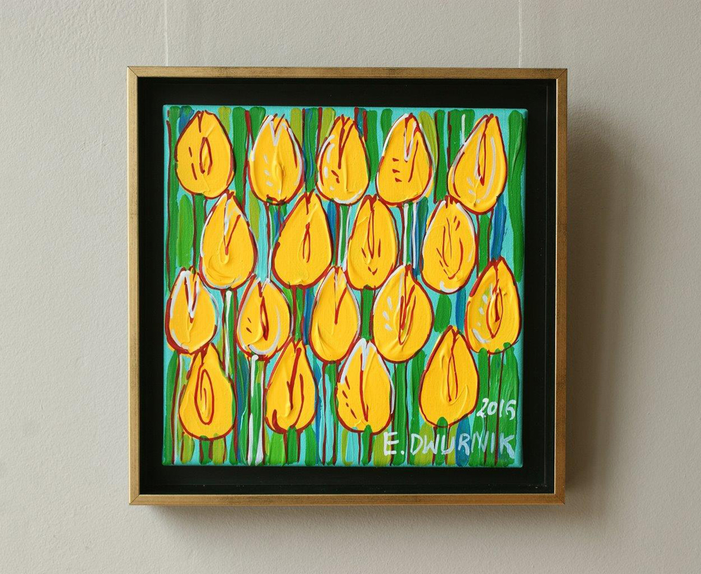 Edward Dwurnik : Tulips No. 3
