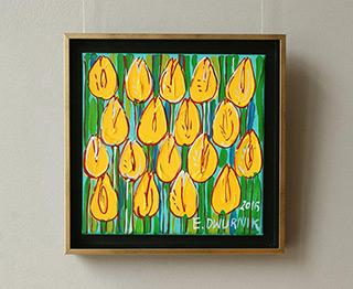 Edward Dwurnik : Tulips No. 3 : Oil on Canvas