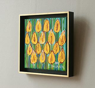 Edward Dwurnik : Tulips No. 5 : Oil on Canvas